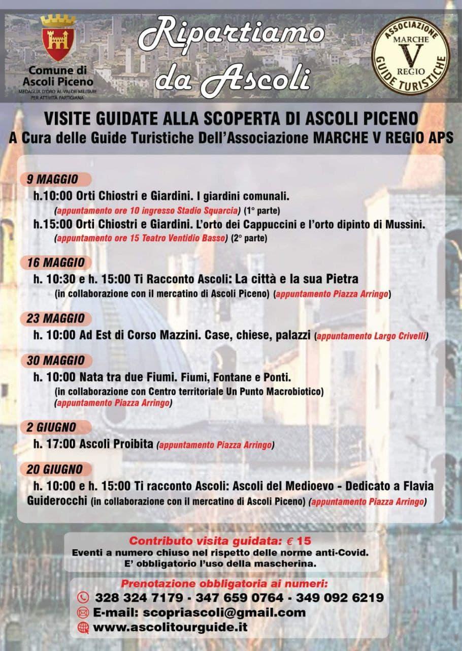 Calendario Ripartiamo da Ascoli Piceno
